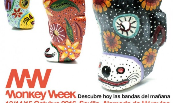 Monkey Week completa su cartel